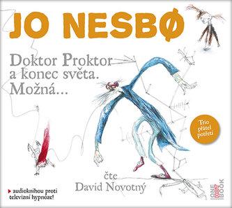Doktor Proktor a konec světa. Možná... - CDmp3 (čte David Novotný) - Jo Nesbø