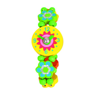 Náramkové hodinky - Kytičky