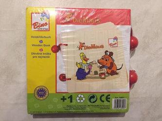 Myš - Dřevěná knížka