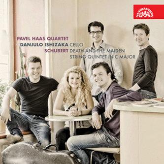 Smyčcový kvartet č. 14 d moll Smrt a dívka, Kvintet C dur - 2CD - Schubert Franz