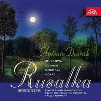 Rusalka. Opera o 3 dějstvích - 3CD - Dvořák Antonín