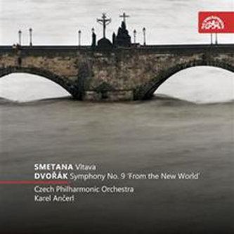 Vltava - Symfonie č. 9 e moll Z nového světa - CD - Smetana B., Dvořák A.