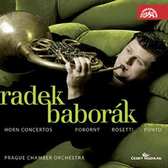 Koncerty pro lesní roh a orchestr /Pokorný , Rössler- Rosetti , Stich-Punto - CD - Baborák Radek
