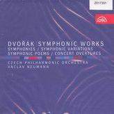 Kompletní symfonie, Symfonické básně, Symfonické variace, Koncertní předehry - 8CD