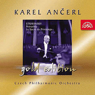 Gold Edition 5 - Stravinskij - Petruška, Svěcení jara  -CD