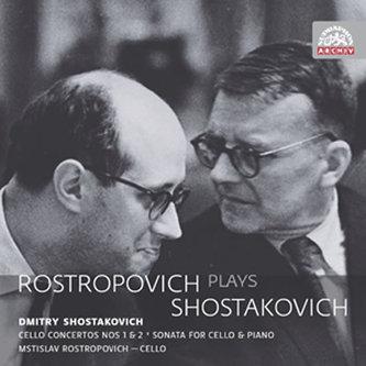Rostropovič hraje Šostakoviče - 2CD