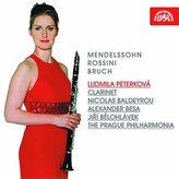 Mendelssohn-Bartholdy / Rossini / Bruch : Skladby pro klarinet a orchestr - CD