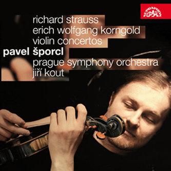 Houslové koncerty - Korngold/Strauss - CD - Šporcl Pavel