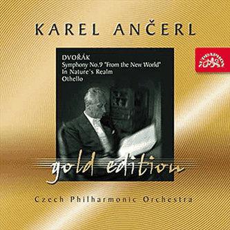 Gold Edition 2 - Dvořák - Symfonie č. 9 Z Nového světa, V přírodě, Othello - CD - Dvořák Antonín
