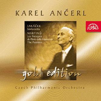 Gold Edition 24 - Janáček - Sinfonietta / Martinů - Fresky Piera della Francesca, Paraboly - CD - Leoš Janáček