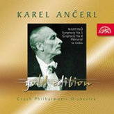 Gold Edition 34 - Martinů -  Symfonie č. 5 a 6 (Symf. fantazie), Památník Lidicím  - CD