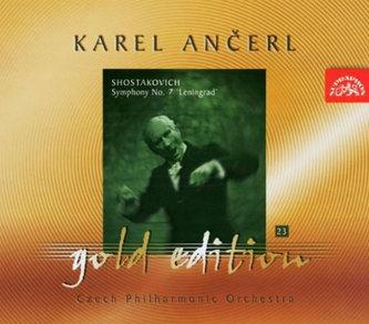 Gold Edition 23 - Šostakovič - Symfonie č. 7 Leningradská - CD - Šostakovič Dmitrij