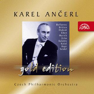 Gold Edition 43 -  Britten - Hurník - Dobiáš - Kapr - Kalaš - Kalabis - Seidel - Jirko - Eben - Bořkovec - 4CD