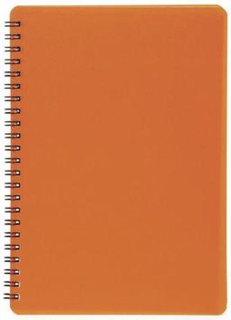Plastic blok NEON oranžový A5, linka, 60 listů