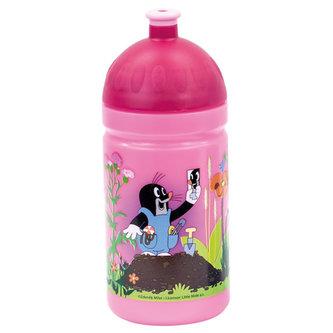 Krtek - Zdravá láhev, růžová