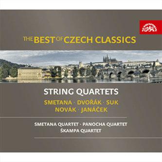 The Best of Czech Classics - smyčcové kvartety; Smetana, Dvořák, Janáček - 3CD