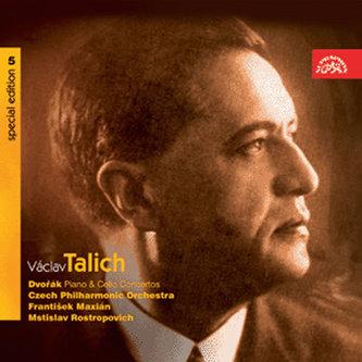 Talich Special Edition 5/ Dvořák: Koncert pro klavír a orch. g moll, Koncert pro violoncello a orch. h moll - CD