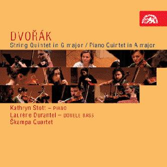Smyčcový kvintet G dur, op. 77, Klavírní kvintet č. 2 A dur, op. 81, - CD