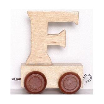 Vagónek F - hnědá kolečka - neuveden