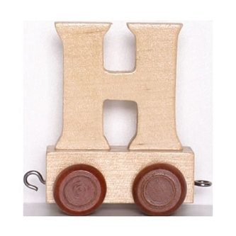 Vagónek H - hnědá kolečka - neuveden