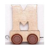 Vagónek M - hnědá kolečka