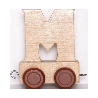 Vagónek M - hnědá kolečka - neuveden