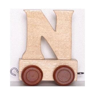 Vagónek N - hnědá kolečka