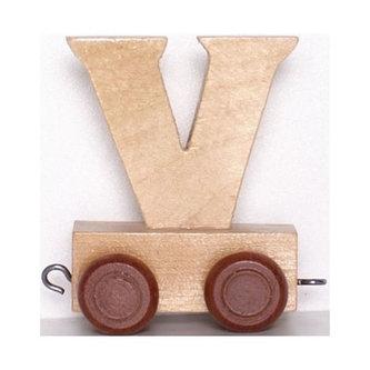 Vagónek V - hnědá kolečka - neuveden