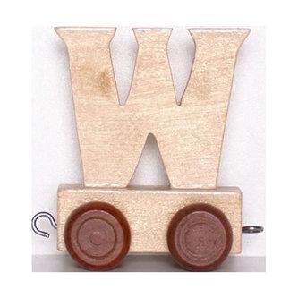 Vagónek W - hnědá kolečka - neuveden