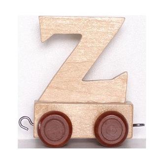 Vagónek Z - hnědá kolečka