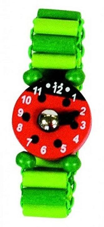 Dřevěné hodinky - 1ks