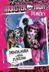 Monster High deníčky – Draculaura a nová zlocecha
