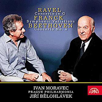 Koncert pro klavír a orchestr - Beethoven, Franck, Ravel - CD - Beethoven Ludwig van