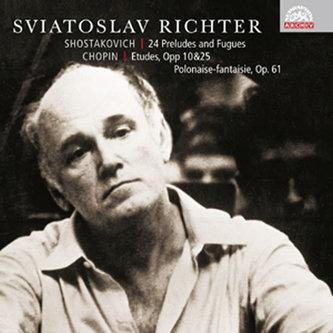 Šostakovič - Chopin : 24 preludií a fug, op. 87 - Etudy opp 10 & 25 (výběr), Polonéza - fantazie, op. 61 - CD