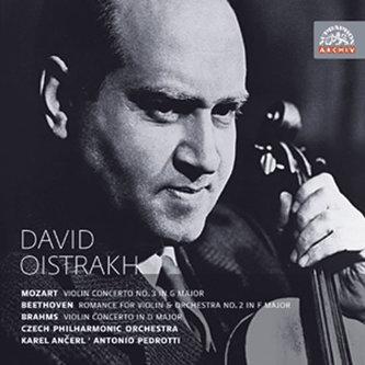 Koncerty pro housle a orchestr - Mozart, Beethoven, Brahms - CD