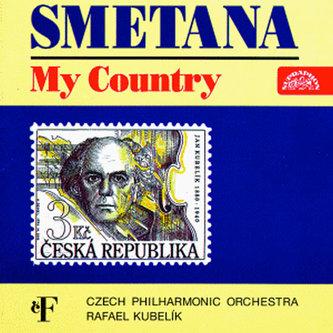 Má vlast. Cyklus symfonických básní - CD - Smetana Bedřich