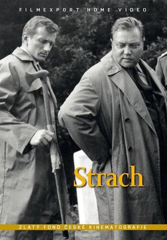 Strach - DVD box