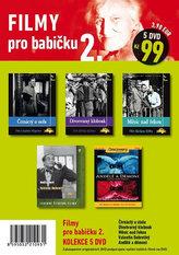 Filmy pro babičku 2. - 5 DVD pošetka
