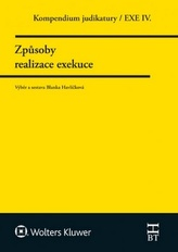 Kompendium judikatury. Způsoby realizace exekuce. 4. díl