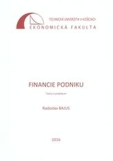 Financie podniku - Teória a praktikum