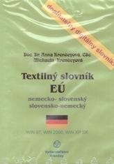 CD-ROM Textilný slovník EÚ