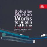 Skladby pro housle a klavír - 4 CD