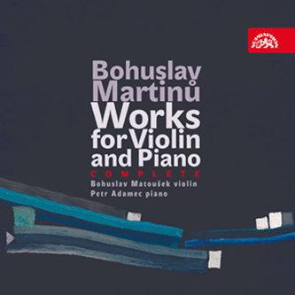 Skladby pro housle a klavír - 4 CD - Bohuslav Martinů