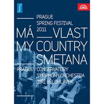 Má vlast. Zahájení Pražského jara 2011 LIVE - DVD - Smetana Bedřich
