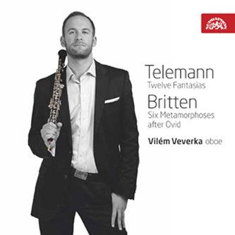 Telemann: Fantasie, Britten: Metamorfózy / Vilém Veverka - hoboj - CD - Různí interpreti