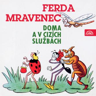 Ferda mravenec doma a v cizích službách - CD - Sekora Ondřej