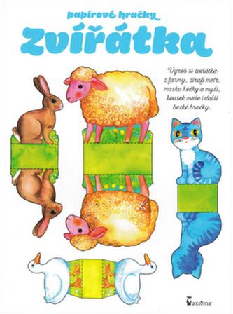 Papírové hračky Zvířátka - Andrea Popprová