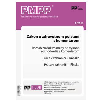 PMPP 8/2016 Zákon o zdravotnom poistení s komentárom