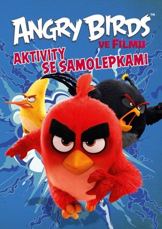 Angry Birds ve filmu - Aktivity se samolepkami - Linda Perina