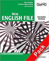 New English File Intermediate Workbook with MultiRom Pack